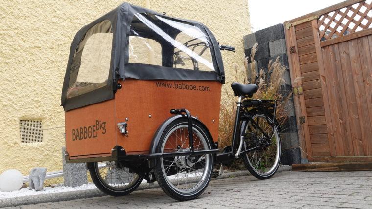 Das neue E- Lastenrad ist da!